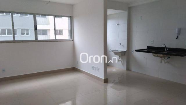 Apartamento com 2 dormitórios à venda, 56 m² por R$ 258.000,00 - Vila Rosa - Goiânia/GO - Foto 3