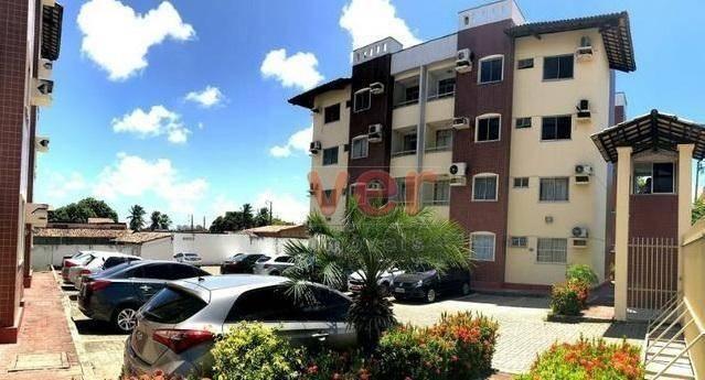 Apartamento para alugar, 62 m² por R$ 700,00/mês - Dias Macedo - Fortaleza/CE