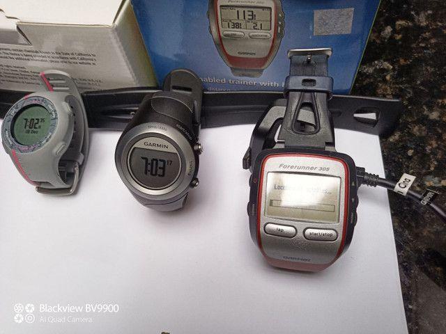 Garmin 305 com cinta cardiaca - Foto 2