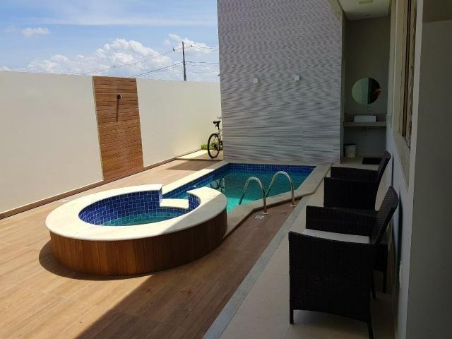 Casa pronta no Alphaville, com: 3/4, sendo uma suíte // área gourmet c piscina - Foto 7