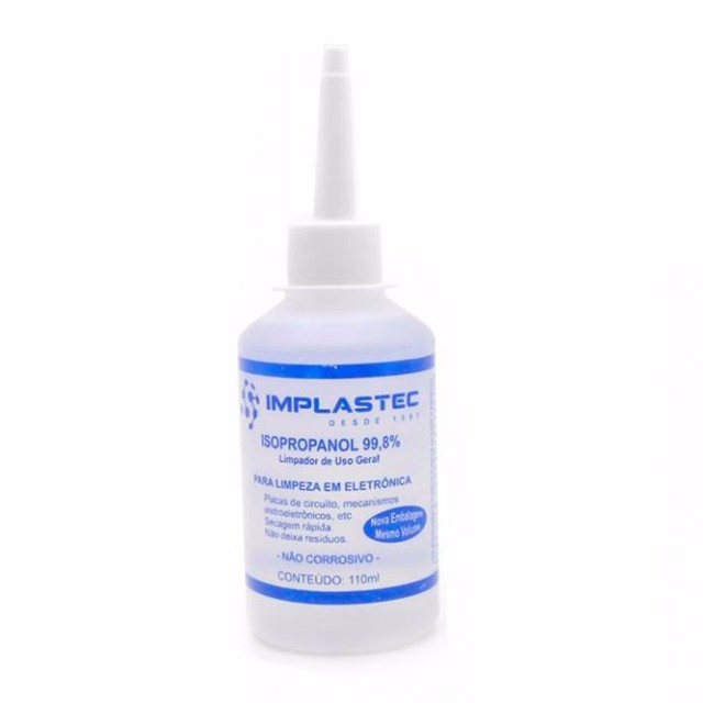 Álcool Isopropilico 110ml - Implastec