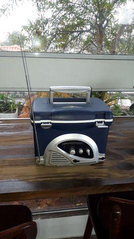 Radio/cooler para pesca - Foto 5
