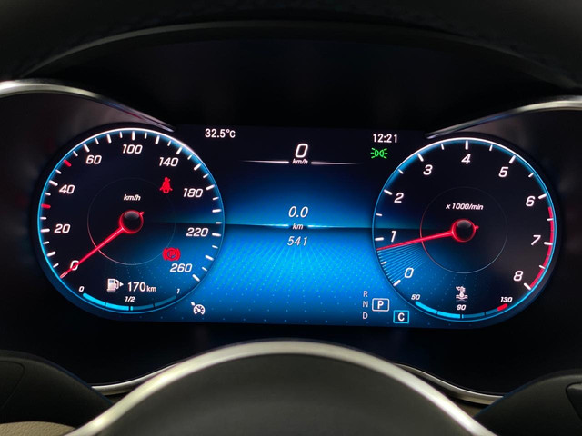Mercedes c-180 2020 c/500km. igual a zerokm. léo careta veículos - Foto 17