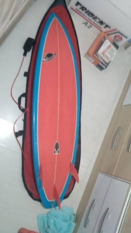 Prancha de Surf + Capa + Lycra - Foto 5
