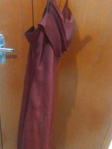 vestido sexy vermelho chique - Foto 3