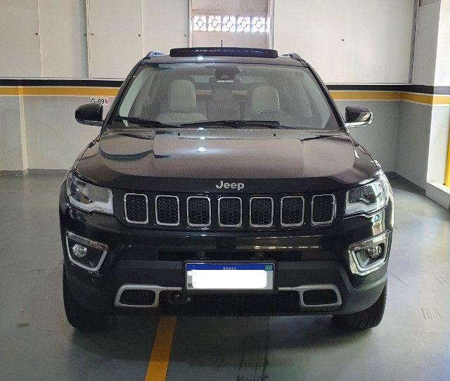 Jeep Compass Limited Diesel com Teto Solar, Park Assist (estaciona sozinho), 18/18 - Foto 2