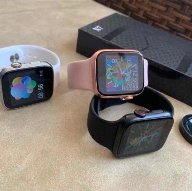 Relógio inteligente x7 atualizado faz e recebe ligações  - Foto 3
