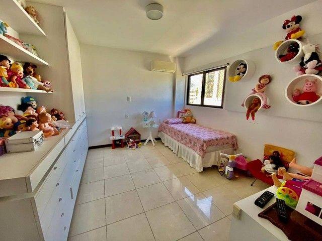 Apartamento para venda possui 200 metros quadrados com 3 suites mais dce.Ponta Verde - Mac - Foto 10