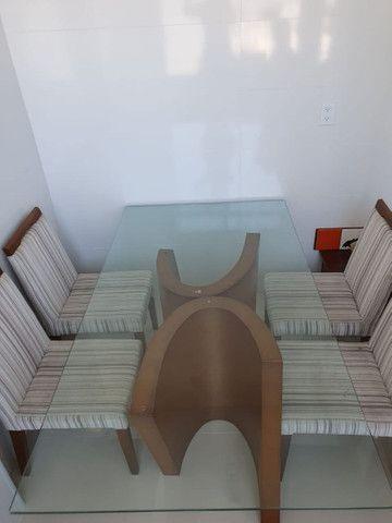 Mesa Jantar de vidro 180 x 100 cm - Foto 2