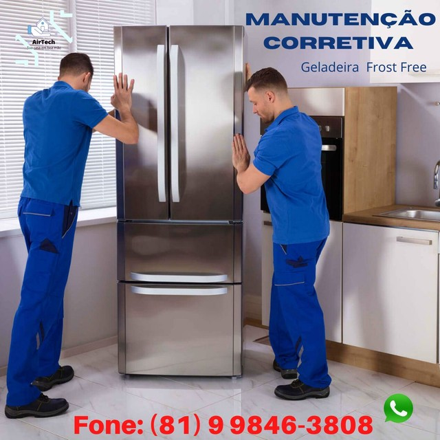 Conserto e manutenção de geladeira Frost Free  - Foto 3