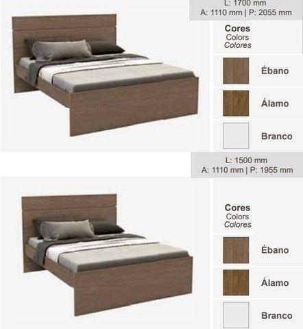 Conforto neste Dormitório Completo (Roupeiro/Canto/Complementos), R$12.893,61! - Foto 3