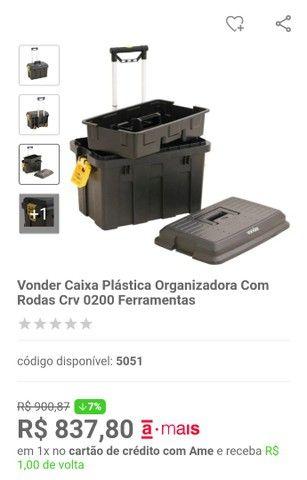 Caixa plástica vonder - Foto 4