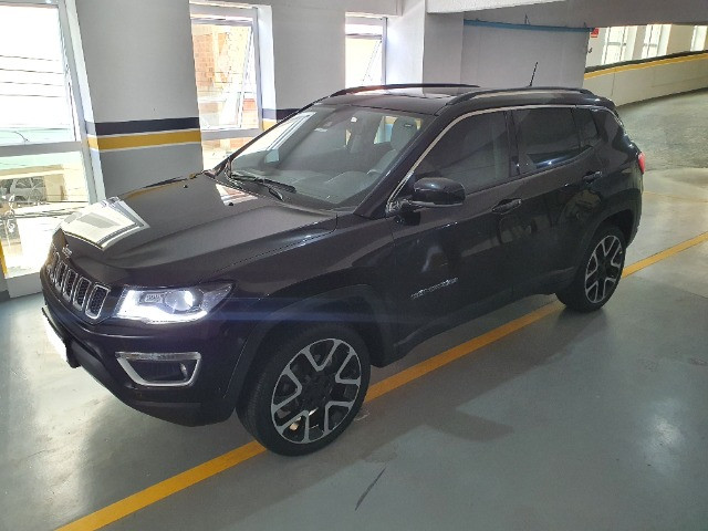 Jeep Compass Limited Diesel com Teto Solar, Park Assist (estaciona sozinho), 18/18 - Foto 17