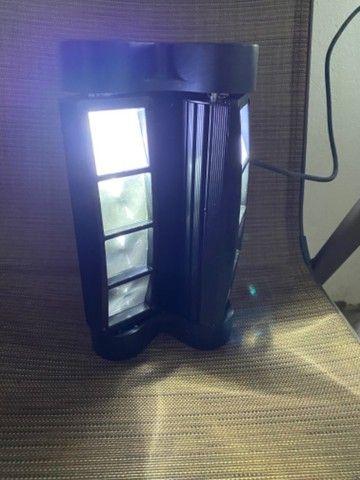 Jogo de luz raio de sol led rgb mooving novinho - Foto 6