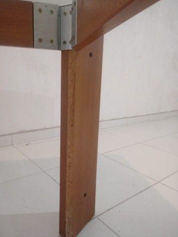 Mesa com vidro medidas na descriçao - Foto 2