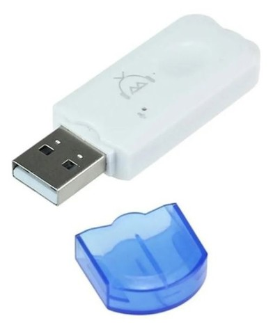 Adaptador de áudio Bluetooth USB para carro