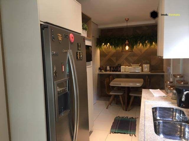 Apartamento Mobiliado com 3 suítes à venda, 142 m² por R$ 1.600.000 - Royal Park - Campo G - Foto 11