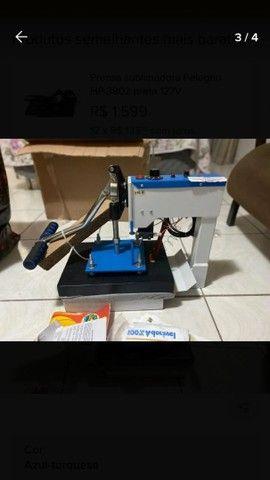 Máquina de estampar camisetas da compacta print - Foto 2