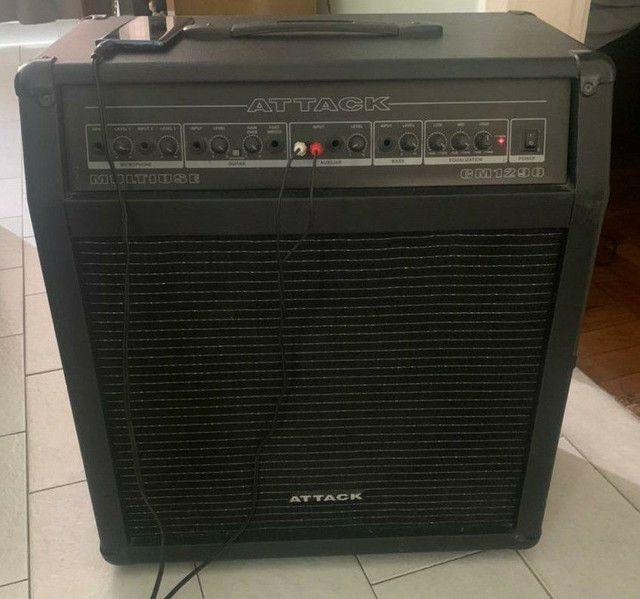 Caixa de som multiuso attack cm 1290