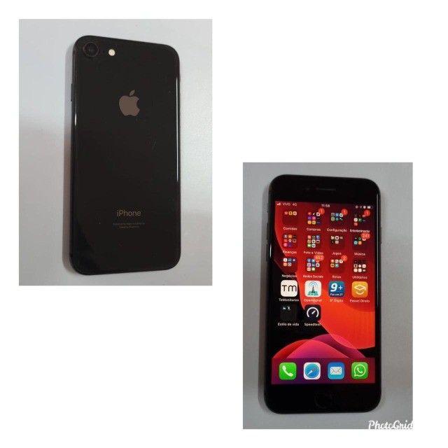 IPhone 8 Carregador e Caixa Original com NF