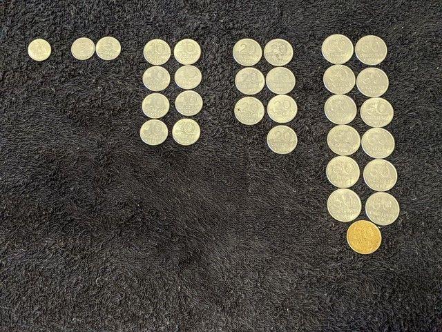 Moedas Cruzeiros de 1, 5, 10, 20 e 50. (1980-1985) - Foto 6