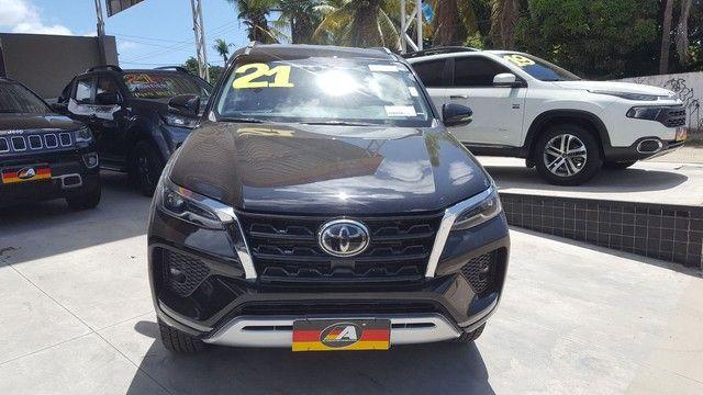 Toyota Hilux SW4 SRX 2.8 4x4 turbo diesel 2021 - Foto 8