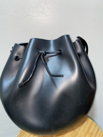 Vendo Bolsa Melissa Sac Bag Preta - Foto 3