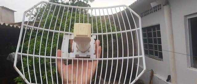 Antena via internet via rádio