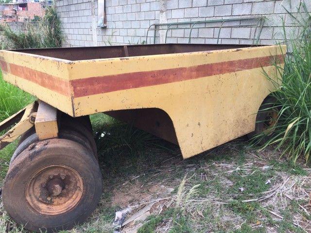 Rolo do pneu compactador rebocavel   - Foto 2