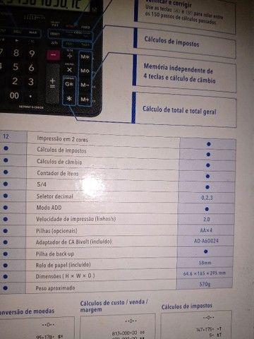 Calculadora c/impressão Casio HR -100  - Foto 6