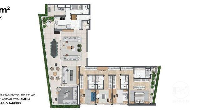 Apartamento Jardim América, 4 Dorms., 4 Suítes, 3 Vagas, Lazer Completo - Foto 7