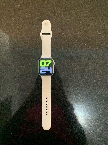 Apple Watch Series 4 Prata 44MM  - IMPECÁVEL  - Foto 4