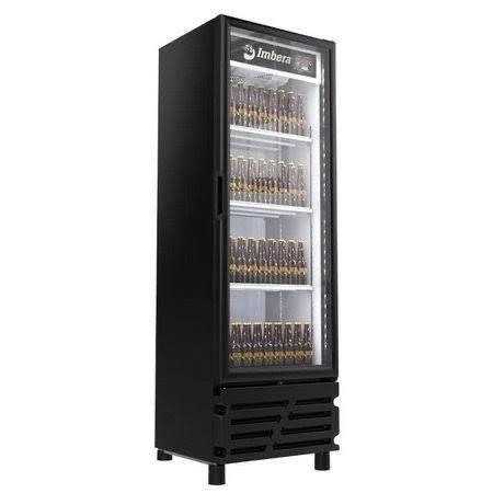 v- Cervejeira 454 litros porta de vidros