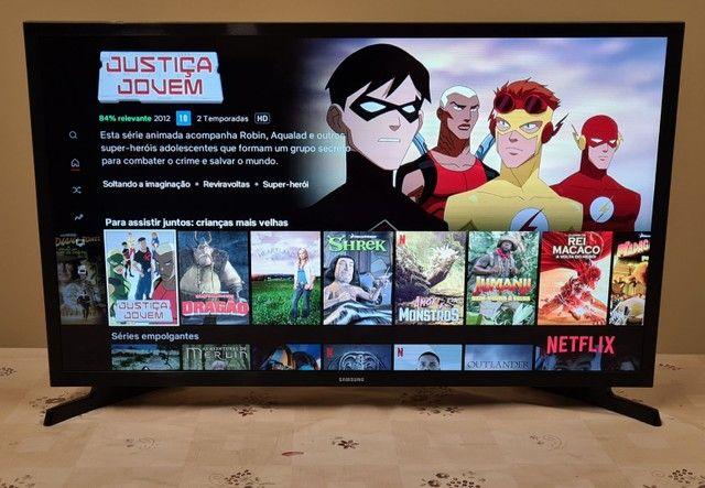 Tv Samsung led full hd smart wi-fii 40 polegada  - Foto 3