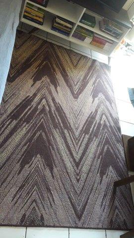 Desapegando tapete.  Usado 2 meses.  1,45x200