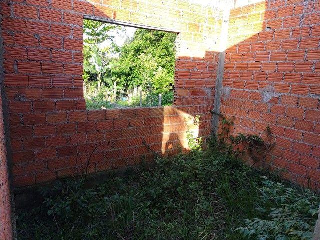 Vendo terreno com casa em obras em Garopaba - Foto 4