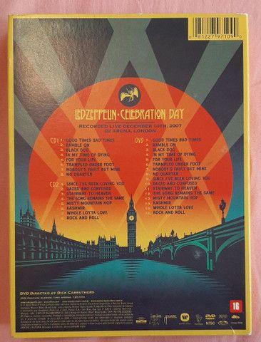 Box Led Zeppelin Celebration Day (2 CDs + 1 dvd) - Foto 2