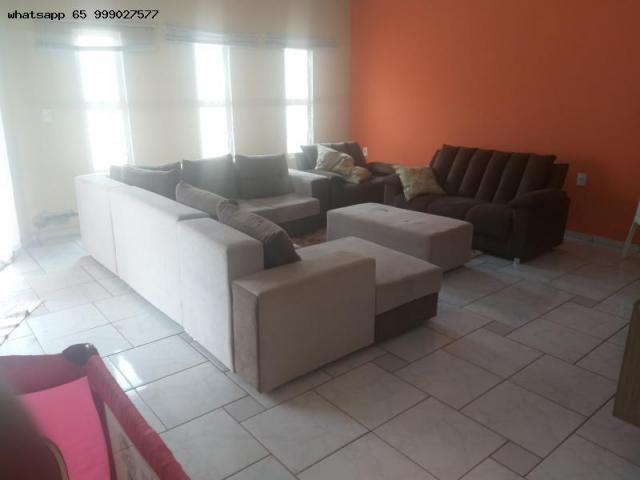 Casa para Venda em Várzea Grande, Ouro Verde, 3 dormitórios, 1 suíte, 3 banheiros, 4 vagas - Foto 9