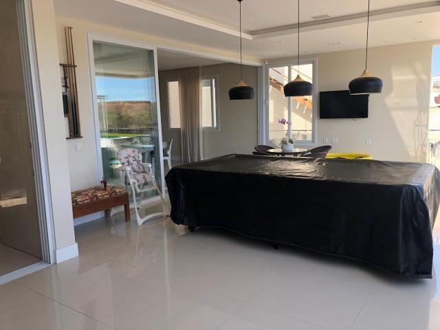 Casa Alphaville II Triplex 500m² 4 suítes piscina com Borda Decorada Alto luxo - Foto 13