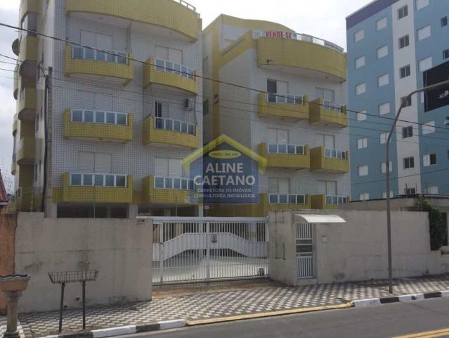 Apartamento à venda com 2 dormitórios em Centro, Mongaguá cod:AB2067