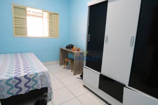 Casa com 3 dormitórios à venda, 125 m² por r$ 290.000,00 - residencial recanto do bosque - - Foto 12
