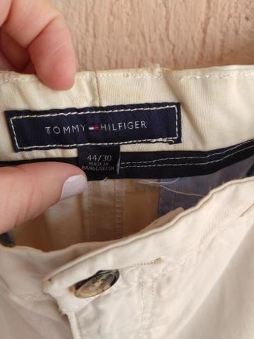 Calça masculina Tommy Hilfiger 54 cor clara - Foto 4
