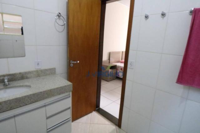Casa com 3 dormitórios à venda, 125 m² por r$ 290.000,00 - residencial recanto do bosque - - Foto 20