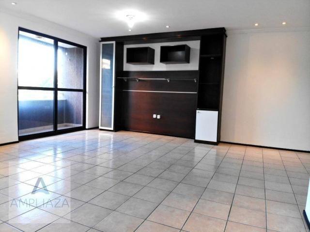 Apartamento com 3 dormitórios à venda, 128 m² por r$ 480.000 - de lourdes - fortaleza/ce - Foto 20