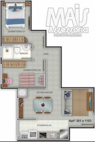 Apartamento para venda em novo hamburgo, centro, 2 dormitórios, 1 banheiro, 1 vaga - Foto 6