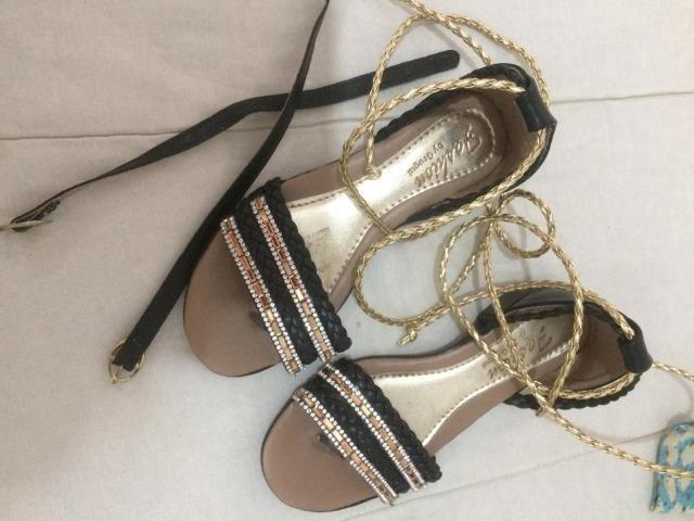 Sapatos femininos infantis - Foto 2