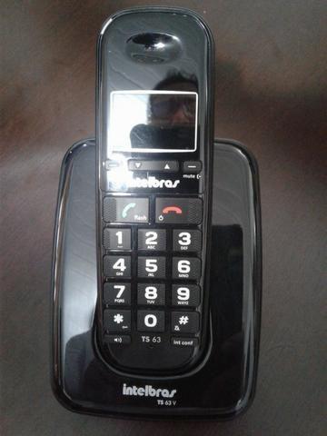 TS 63 V - Telefone Sem Fio Preto - Foto 3