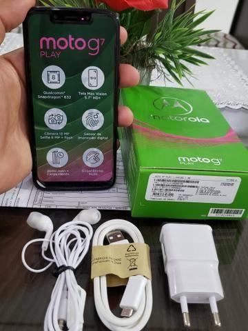 Motorola Moto G7 Play Preto R$ 575,00 ? Sem marcas de queda, nenhum arranhão e com NF