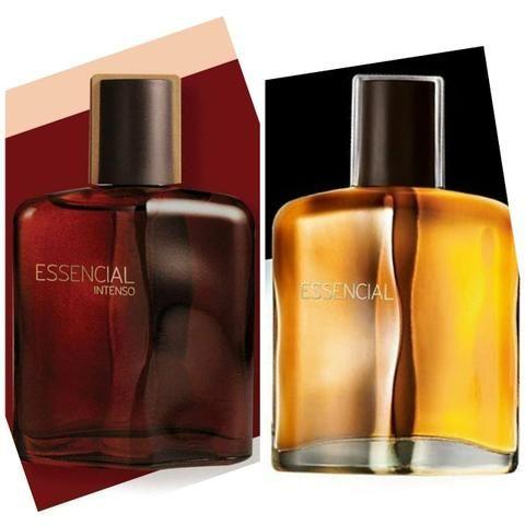 Promoção perfume natura essencial masculino tradicional ou intenso 100ml