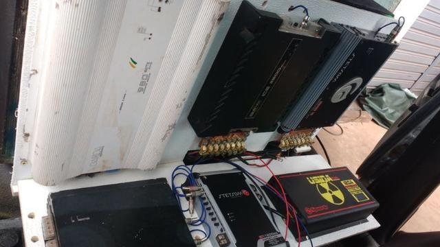 Corsa GLS 1.6 com ar condicionado ano 98 e paredão potente completo - Foto 10